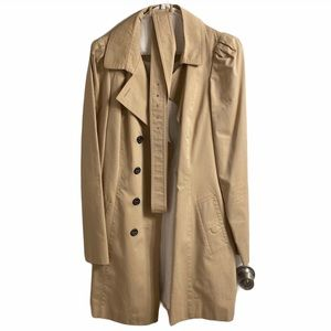 ZARA trench coat with belt - Tan